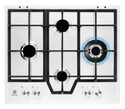 Встраиваемая варочная панель газовая Electrolux GME363LW White