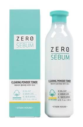 Тоник для лица Etude House Zero Sebum Clearing Powder Toner 200 мл