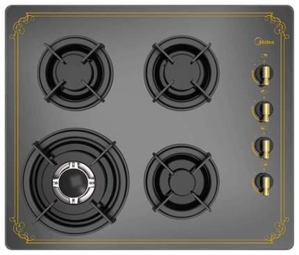 Встраиваемая варочная панель газовая Midea Q408GFD-AN Gold/Black