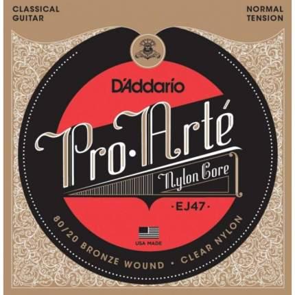 Струны для классической гитары D ADDARIO EJ47
