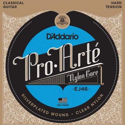Струны для классической гитары D ADDARIO EJ46