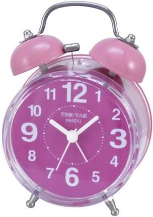 Будильник Тик-Так Б-857 розовый
