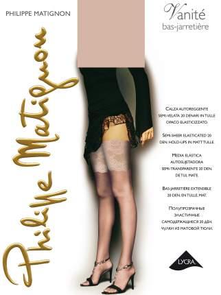 Чулки женские Philippe Matignon M111525PM бежевые 2