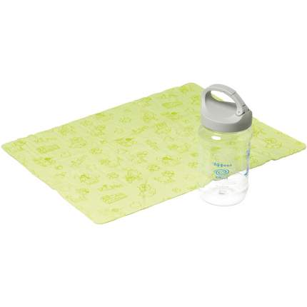Полотенце для животных V.I.Pet Эффект, впитывающее и охлаждающее, зеленое, 43 х 32 см