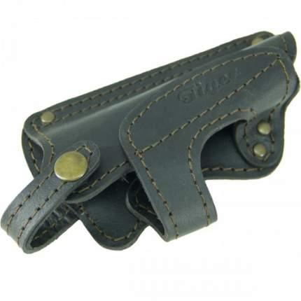 Кобура Tiger поясная Колибри для пистолета ПМ кожаная черная