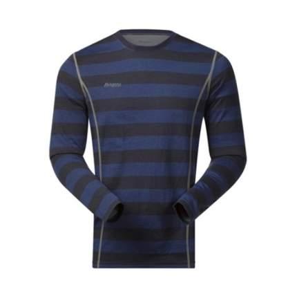 Футболка Bergans Akeleie Shirt мужская темно-синяя XL