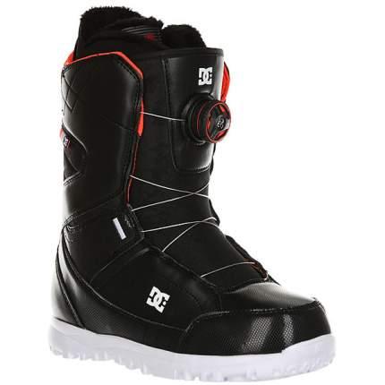 Ботинки для сноуборда DC Search 2019, черные, 22.5