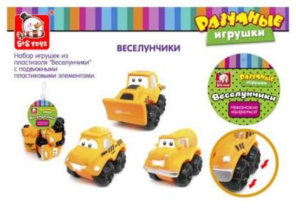 S+S TOYS Набор игрушек для купания Транспорт 100680032
