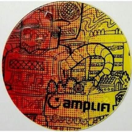 Наклейка на сноуборд Amplifi Round Stomp, robot