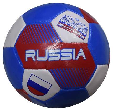 Футбольный мяч Minsa PVC №5 white/blue/red