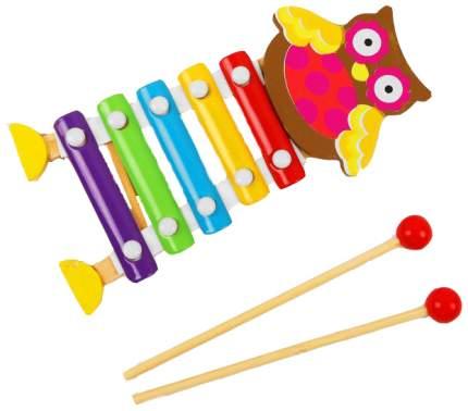 Металлофон игрушечный Sima-Land Совушка 3567131