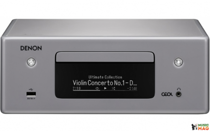 CD-проигрыватель Denon RCDN10GYE2 Silver