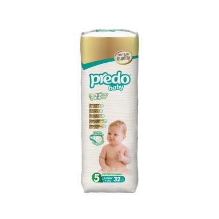 Подгузники Predo Baby Junior №5 Преимущественная пачка 32 шт. 11-25 кг