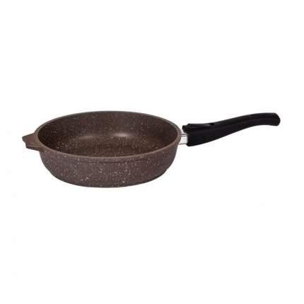 Сковорода Мечта, Гранит, Brown, 30 см, съемная ручка /030806