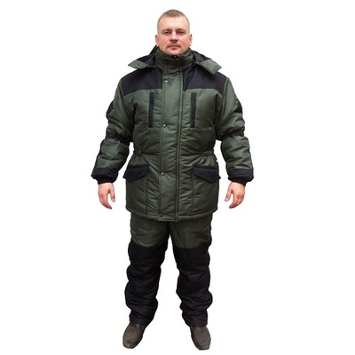 Костюм для рыбалки Россия Тайга, хаки, 48-50 RU, 170-176 см