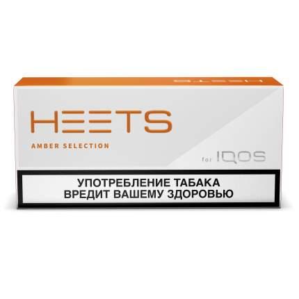Стики HEETS Amber Selection оранжевый блок