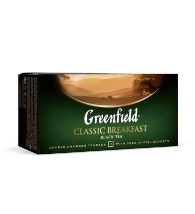 Чай черный Greenfield classic breakfast 25 пакетиков