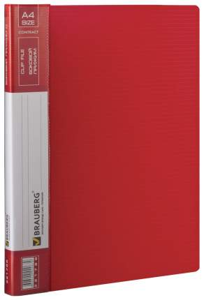Папка с прижимным механизмом Brauberg Contract 221788
