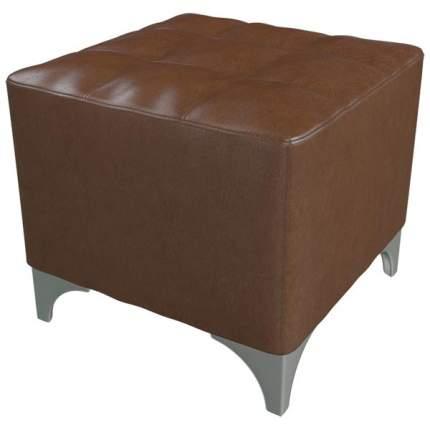 Банкетка 6-5109 Жозефина, коричневая искусственная кожа, ШхГхВ 48х48х42 см.