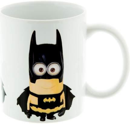 Керамическая кружка 3Dollara Миньон-Бэтмен. Супергерой. MUG0109