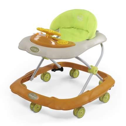 Ходунки Baby Care Optima горчичные