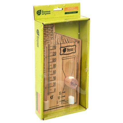 Термометр с песочными часами Банные штучки 27,8x14 см