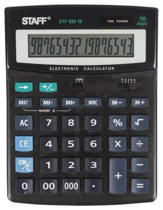 Калькулятор Staff STF-888-16, 16 разрядов, двойное питание, 200х150 мм
