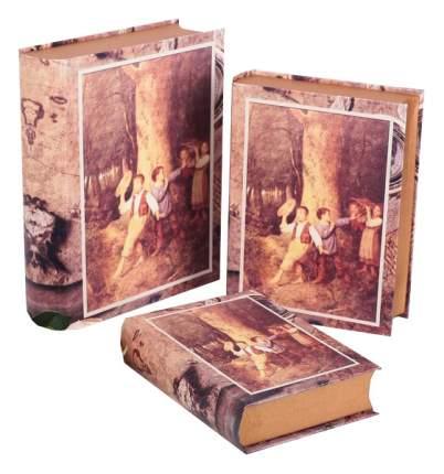 Набор коробок 3в1, 28,5 х 23,5 х 7 - 21,5 х 16 х 5 см Sima-Land