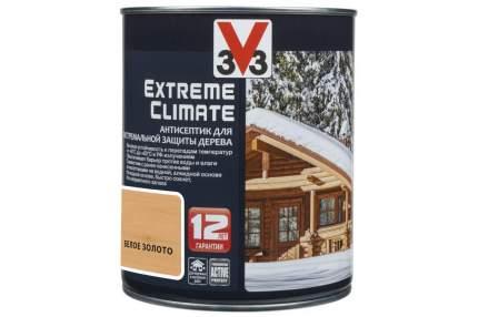 Антисептик для экстремальной защиты V33 Extreme Climate 0.9 л, Цвет белое золото