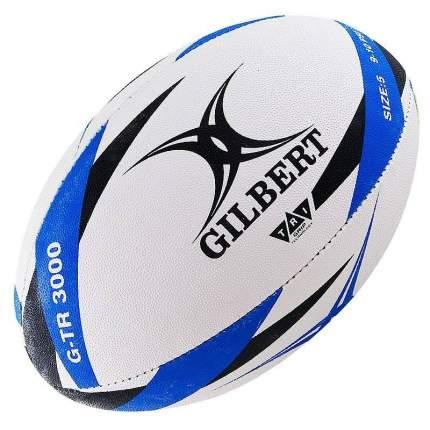 Мяч для регби Gilbert G-TR3000, 5, белый/синий/черный