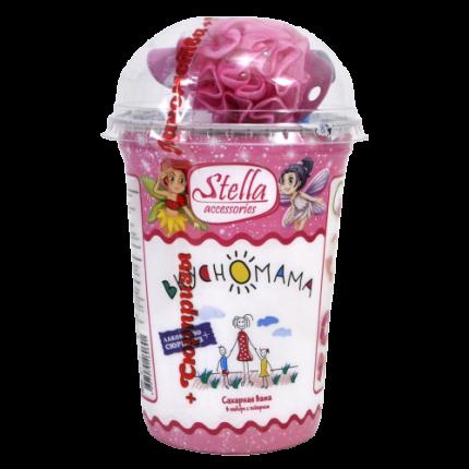 Сладкая вата Вкусномама stella accessories  с игрушкой 30 г