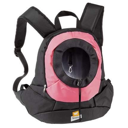 Переноска-рюкзак для животных Ferplast Kangoo, розовый, 37x16x36,5 см