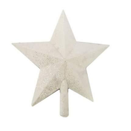 Наконечник для ели MOROZCO звезда, цвет белый