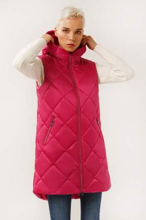 Утепленный жилет женский Finn Flare A19-32018 розовый S