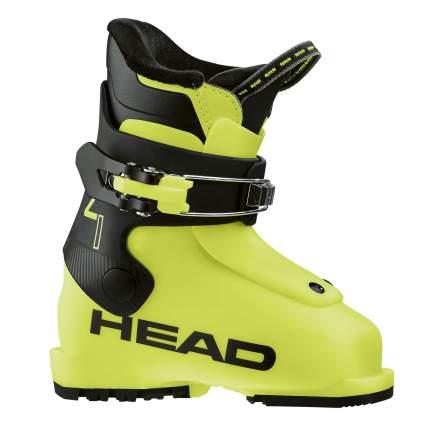 Горнолыжные ботинки Head Z1 2019, yellow/black, 18.5