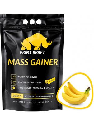 Prime Kraft Mass Gainer 3000 г, Банан
