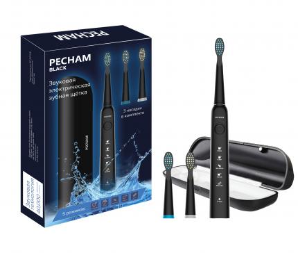 Электрическая зубная щетка PECHAM Black Edition