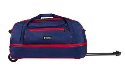 Дорожная сумка Verona Mainland синий/красная 74 x 48 x 39 см