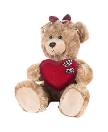 Мягкая игрушка Maxitoys Luxury Мишка Моника с сердцем бантиком на голове