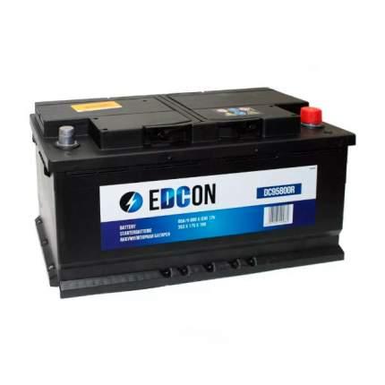 Dc95800r_аккумуляторная Батарея! 19.5/17.9 Евро 95ah 800a 353/175/190 EDCON