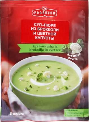 Суп-пюре Podravka из брокколи и цветной капусты 66 г