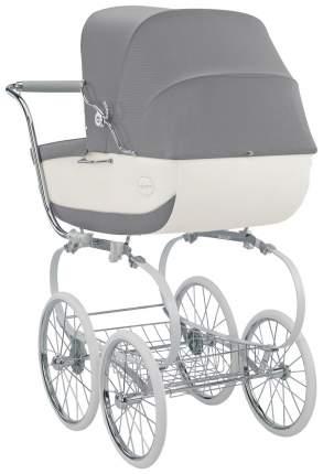 Коляска для новорожденного Inglesina Classica на шасси Balestrino Chrome White