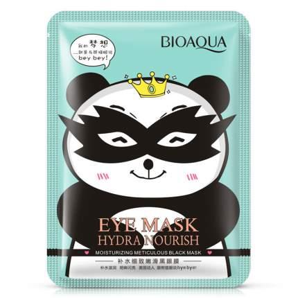 Тканевая маска для кожи вокруг глаз BioAqua Hydra Nourish снимающая усталость, 15 гр.