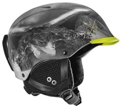 Горнолыжный шлем мужской Cebe Contest Visor Pro 2016, темно-серый, S/M