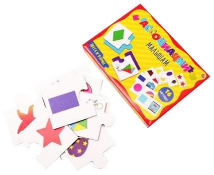 Семейная настольная игра Рыжий кот Ассоциации малышам Цвета и формы ИН-6779