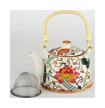 Чайник заварочный Коралл 1343 Восторг Белый