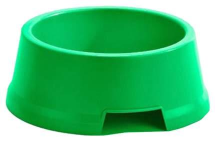Одинарная миска для собак IMAC, пластик, зеленый, 2 л