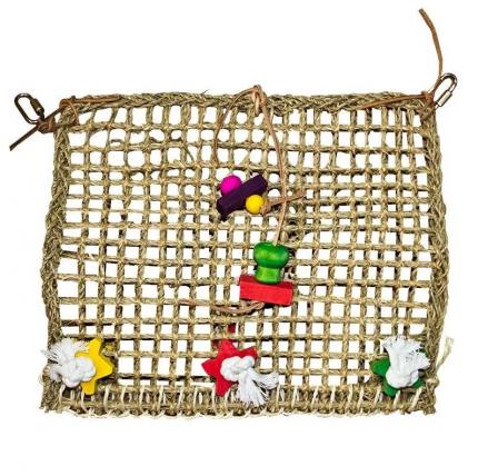 Подвеска для птиц Penn-Plax Плетеная сеть, Текстиль, Дерево, 35x35см