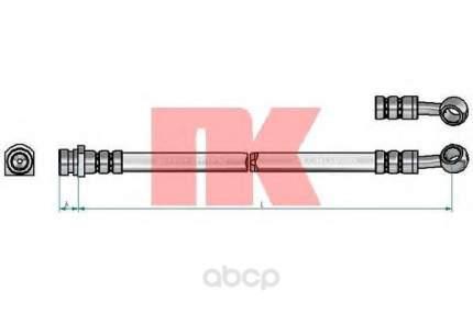 Шланг тормозной системы Nk 853490
