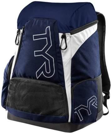 Рюкзак для плавания TYR Alliance LATBP45 45 л синий/золотистый (470 Royal/Gold)